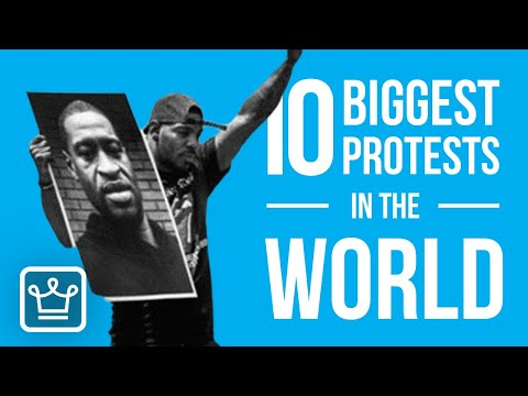 Top 10 BIGGEST PROTESTS in the World