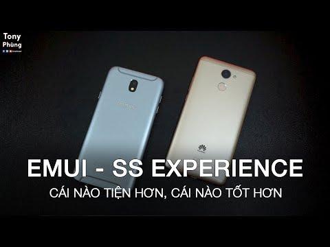 [Smartphone] EMUI của Huawei với Samsung Experience cái nào tốt hơn? Tony Phùng