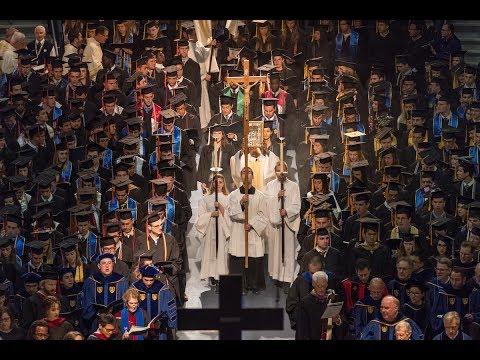 2017: Commencement Mass