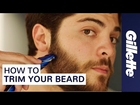 Thumbnail: How to Trim Your Beard: Beard Grooming Tips | Gillette STYLER