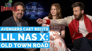 Avengers: Endgame Cast Recite Lil Nas X's Old Town Road
