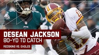 Kirk Cousins Tosses Bomb to DeSean Jackson for an Amazing 80-Yard TD! | NFL Week 14 Highlights