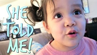 SHE SURE TOLD ME! - March 29, 2017 -  ItsJudysLife Vlogs