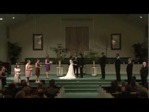 Aaron and Jordan's Bluegrass Wedding