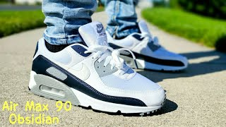 Air Max 90 Obsidian 2020 Unboxing & On Feet - YouTube