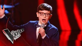 Colin Performs 'You Make Me Feel So Young' | Blind Auditions | The Voice Kids UK 2019