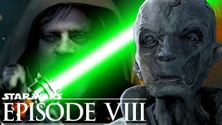 Star Wars Episode 8 How Did Supreme Leader Snoke Get His Scars