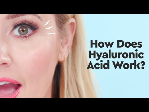 How Does Hyaluronic Acid Work? | The Makeup - YouTube