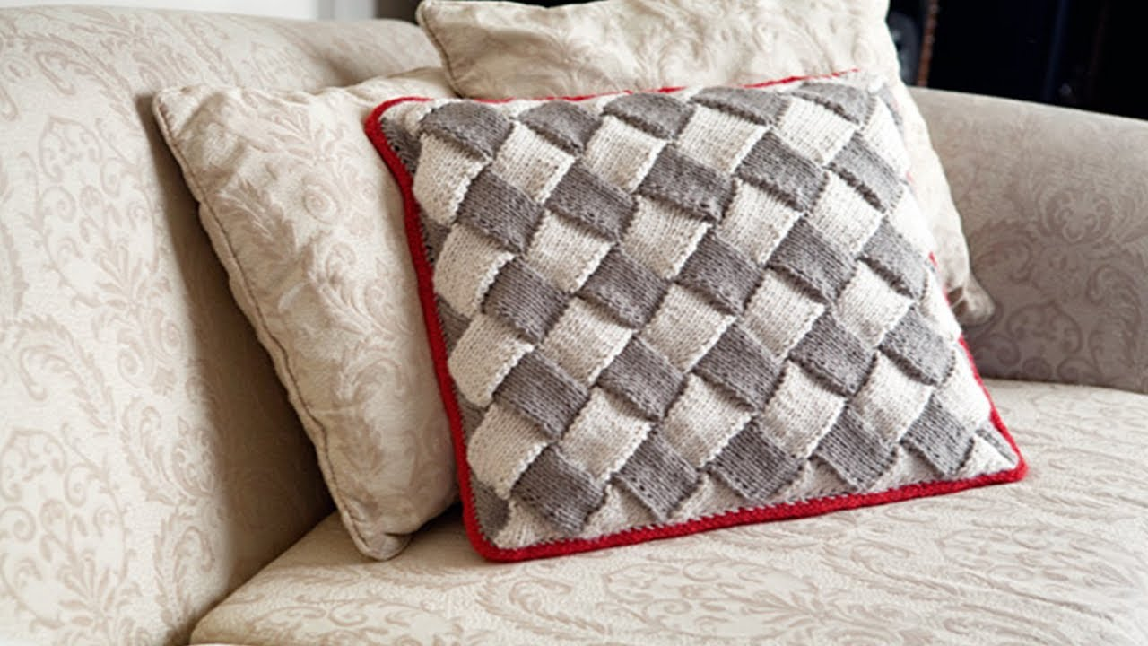 Cojines tejidos a crochet hechos de lana n 09 youtube - Cojines de lana ...