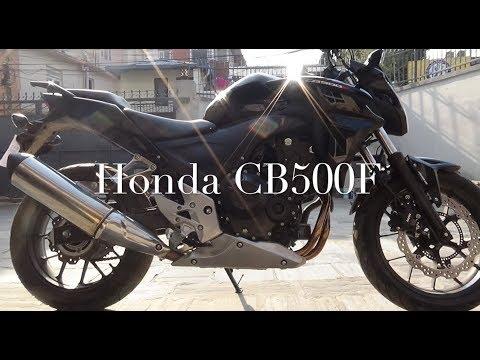 HONDA SPONSPORED ME A BIKE CB500F NEPAL  2018