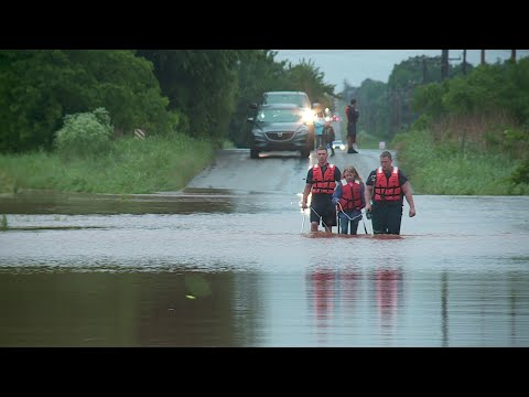 KTOK TOP STORIES - Dozens of Water Rescues From Flooding