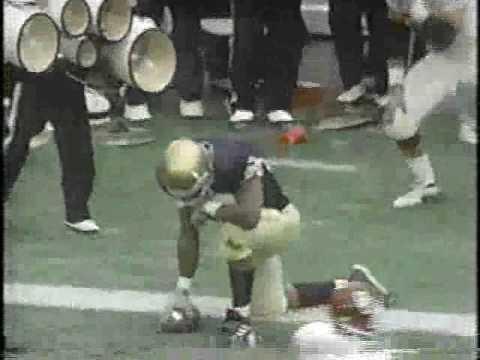 #23 Oklahoma Sooners at Notre Dame Fighting Irish - 1999 - Football