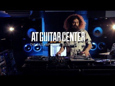 The Gaslamp Killer At Guitar Center