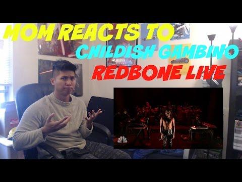 MOM REACTS TO CHILDISH GAMBINO REDBONE LIVE PERFORMANCE JIMMY FALLON | REACTION