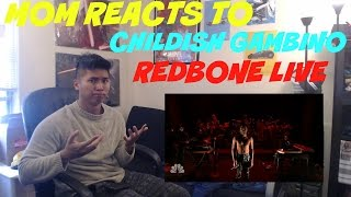 MOM REACTS TO CHILDISH GAMBINO REDBONE LIVE PERFORMANCE JIMMY FALLON   REACTION