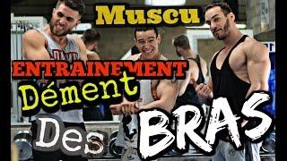 """MUSCU ENTRAINEMENT DÉMENT DES BRAS ! (ft. LILTONE & NdyFitt) - Loïc""""lowik""""B."""
