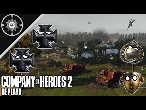 Sexton Spam - Company Of Heroes 2 Replays #32
