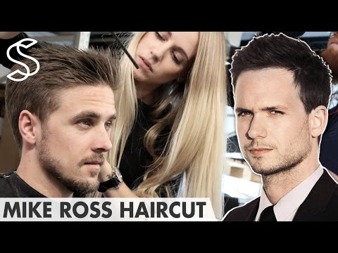 Mike Ross Hairstyle ★ SUITS Patrick J Adams ★ Men's Hair
