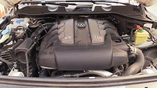 Ölwechsel Touareg, Q7, Cayenne 3 Liter Dieselmotor. Schritt für Schritt