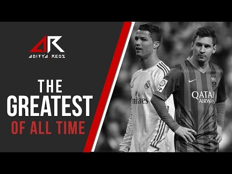 Lionel Messi & @Cristiano Ronaldo - The Greatest of all Time by @aditya_reds