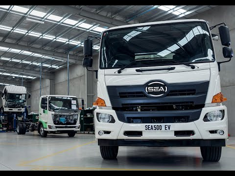 First Production of Electric Trucks