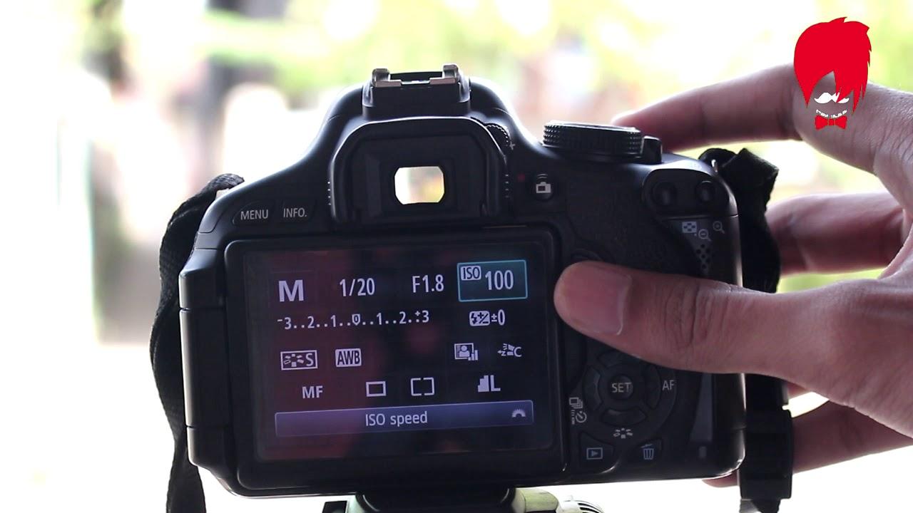 Tutorial Cara Mengatur Segitiga Exposure Pada Kamera Dslr Youtube