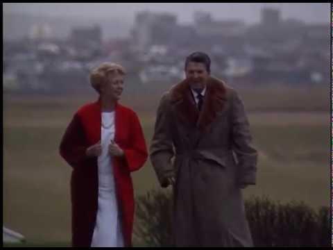 President Reagan's Trip to Reykjavik. Iceland on October 9-10, 1986