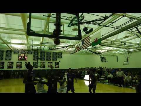 Gabbidon basket Mount St. Joseph/Glenelg Country boys hoops 12/9/16