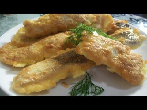 видео: Рыба в тесте-очень нежная и сочная
