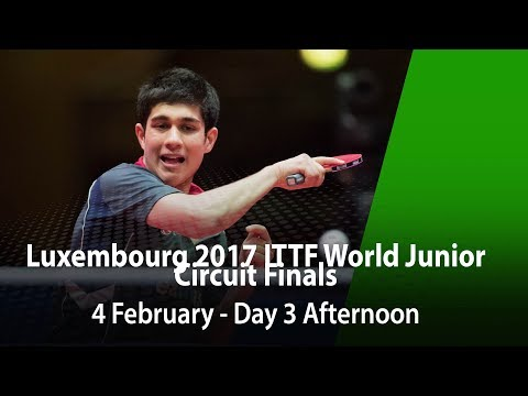 LUXEMBOURG 2017 ITTF World Junior Circuit Finals - Day 3 Afternoon (Final)