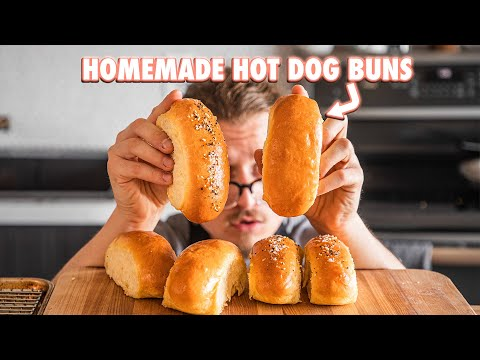 The Perfect Hot Dog With Homemade Buns Feat. Roy Choi