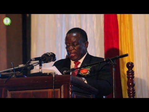 President Mnangagwa speaks to Zimbabwe  Vice Chancellors #263Chat