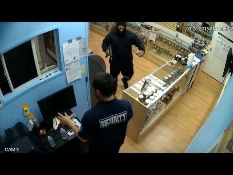 Garden Grove Marijuana Dispensery Robbery Security Guard's Gun Taken