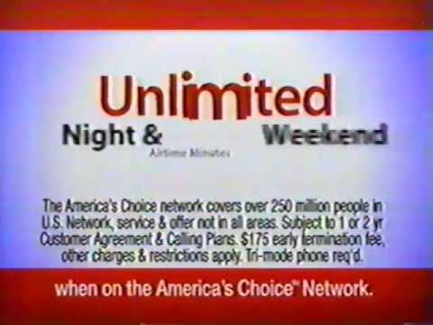 2003 Verizon Wireless Night Weekends Ad Presented By Dct Goddess