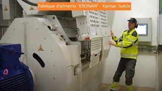 Fabrique d'aliments KRONAN - Kalmar, Suède