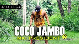 Download lagu Zumba COCO JAMBO - Mr PRESIDENT (90's) // by A. SULU