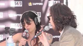 Hozier - Interview @ FM949 Coachella Pool Party