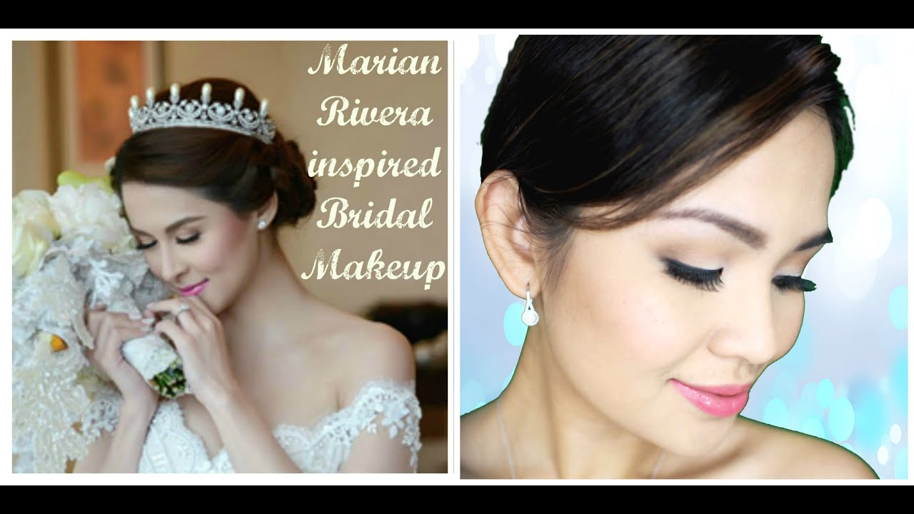 marian rivera bridal makeup | tutorial - youtube