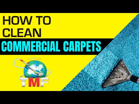 How To Clean Commercial Carpets & Logistics
