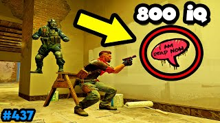 800 IQ GRAFFITI TROLLING! - CS:GO BEST ODDSHOTS #437