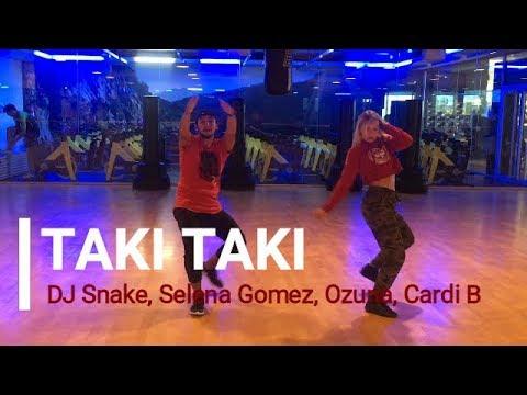 TAKI TAKI – ZUMBA – Dj Snake, Selena Gomez, Ozuna, Cardi B / Easy Dance Choreography