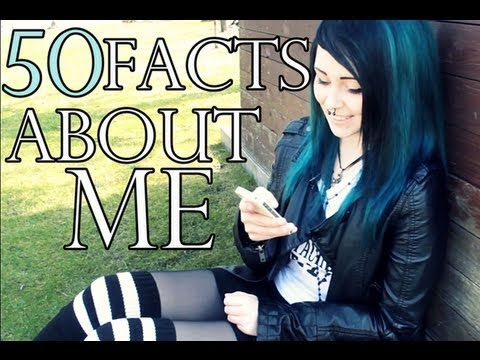 TAG: 50 Facts about me