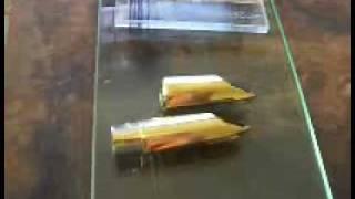 Saxgourmet Soprano and Sopranino Saxophone Mouthpieces