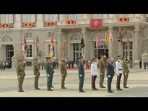 Saludo de las Fuerzas Armadas y Guardia Civil a Su Majestad el Rey