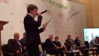 Русский рэп в поддержку Собянина на встрече сторонников в Троицке