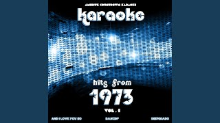 Desperado (In the Style of Linda Ronstadt) (Karaoke Version)