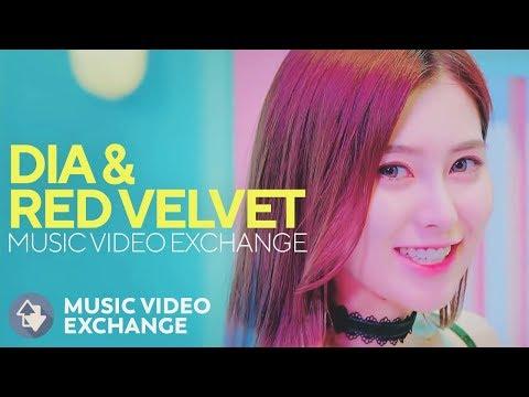 DIA & RED VELVET - Mr. Potter & Ice Cream Cake (MV Exchange)