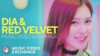 Download DIA & RED VELVET - Mr. Potter & Ice Cream Cake (MV Exchange) MP3 song and Music Video