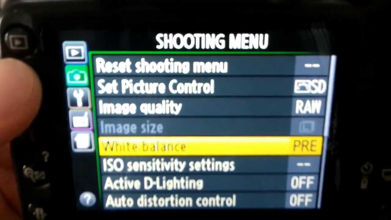 manual exposure d3200