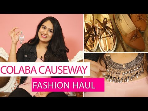 Colaba Causeway Haul 2017 | Style on a budget | Everything under Rs.500 | Fashion | Pinkvilla